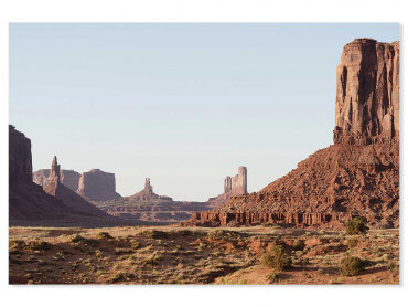 Tableau monument valley view