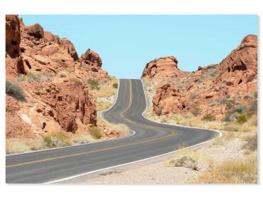 Tableau paysage wild west