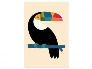 Tableau enfant toucan