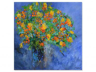 Tableau fleurs bouquet composé