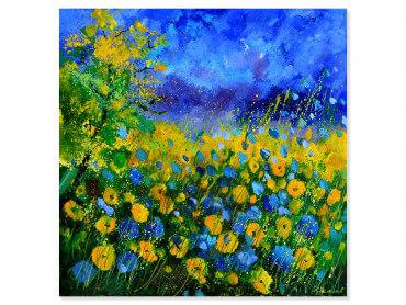 Tableau fleurs sauvages et fleurs des champs