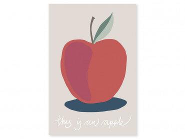 Tableau déco apple-pomme