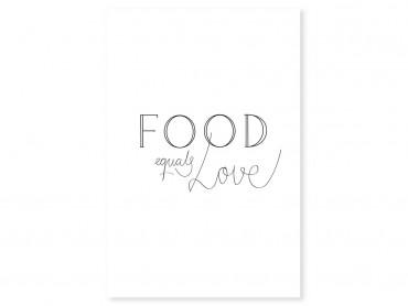 Tableau cuisine food love