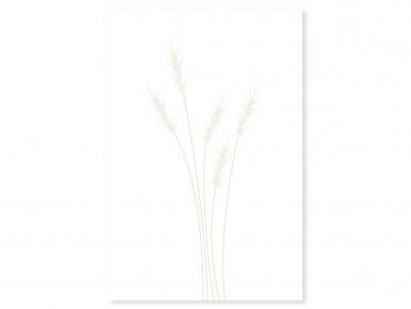 Tableau déco scandi blés