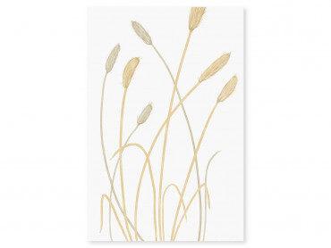 Tableau fleurs scandi blés 2