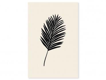 Tableau déco black palm