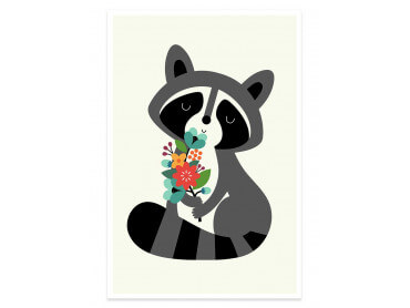 Affiche enfant orsetto lavatore