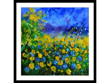 Affiche fleurs sauvages et fleurs des champs