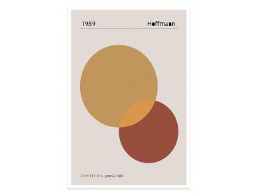 Poster Exposition Hoffman 1989