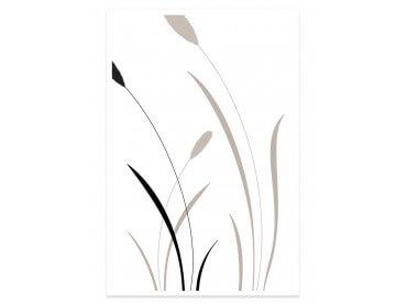 Affiche fleurs scandi blés