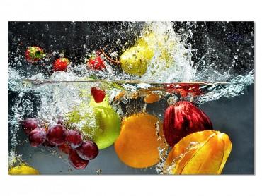 Tableau Cocktail De Fruits H2O , 80x50cm