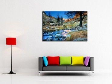 Tableau décoration murale paysages de montagne