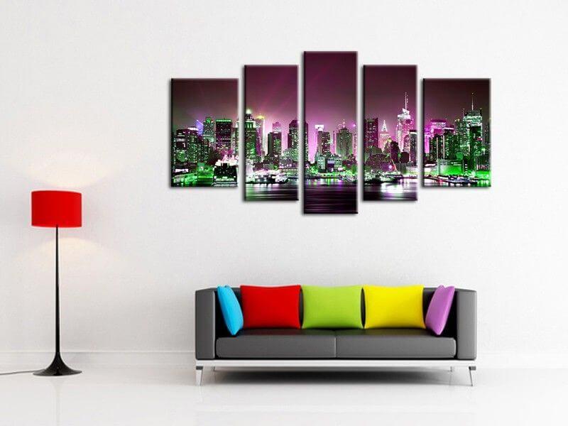 tableau urbain new york d coration murale moderne sur hexoa. Black Bedroom Furniture Sets. Home Design Ideas