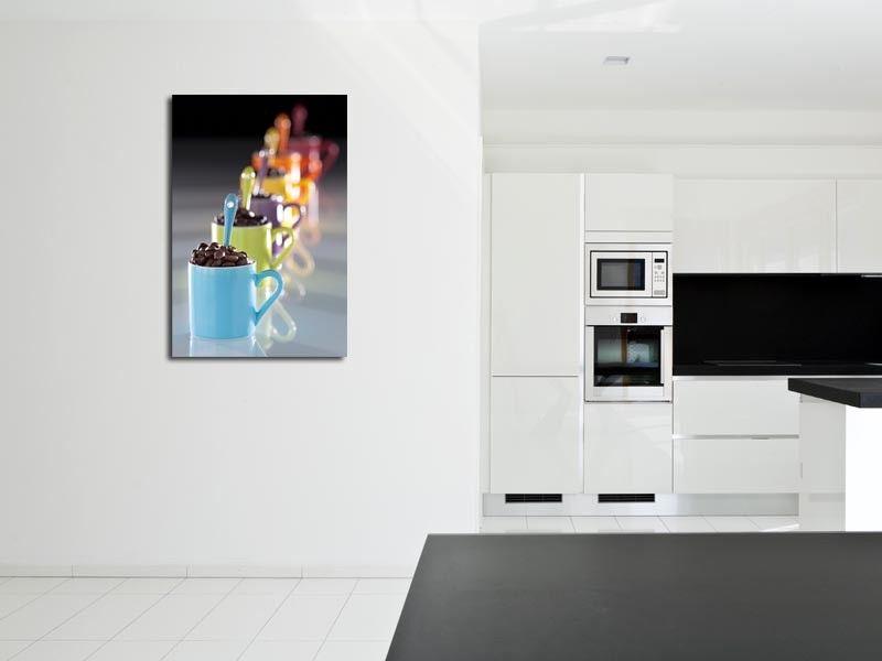 tableau cuisine design : achat de tableaux alu, toile et plexi ... - Cadre Cuisine Design