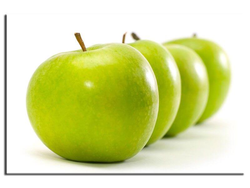 Tableau du00e9coration cuisine pomme verte - Vente de tableaux