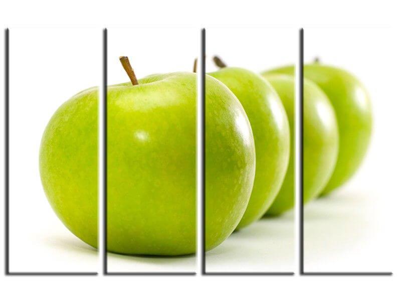 tableau décoration cuisine pomme verte - vente de tableaux - Cadre Cuisine Design