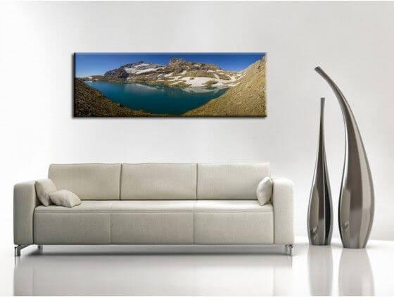 Deco Paysage tableau paysage des pyrénées toile, plexi et alu - vente tableaux