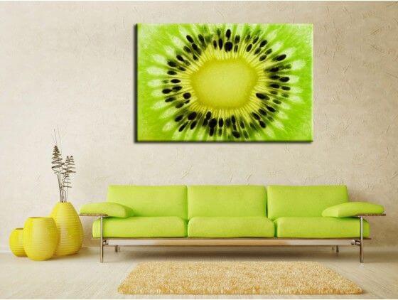 Tableau deco kiwi