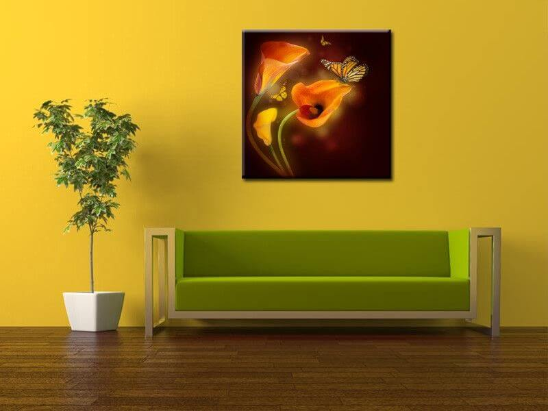 tableau design papillon achat de tableaux deco pas chers hexoa. Black Bedroom Furniture Sets. Home Design Ideas