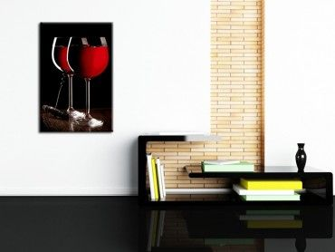 Tableau photo déco murale grand cru vin rouge