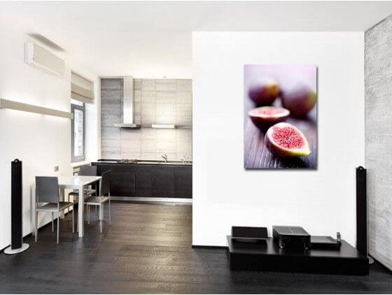 tableau moderne d co cuisine fruit figue prix bas sur hexoa. Black Bedroom Furniture Sets. Home Design Ideas