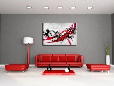 Tableau peinture abstrait Gordi