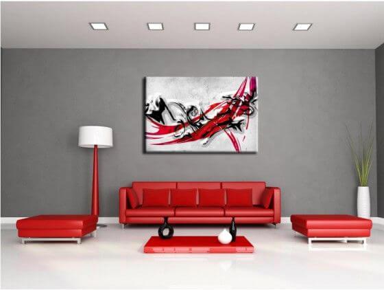 Tableau Peinture Abstrait Pas Cher - Boutique Déco Murale Hexoa