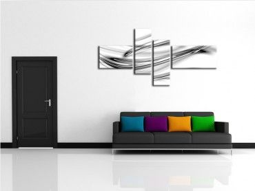tableau moderne art abstrait d grad couleurs vente tableau deco. Black Bedroom Furniture Sets. Home Design Ideas