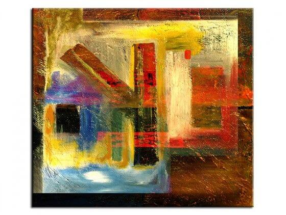 Tableau abstrait Krouze