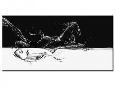 Tableau peinture animaux chevaux