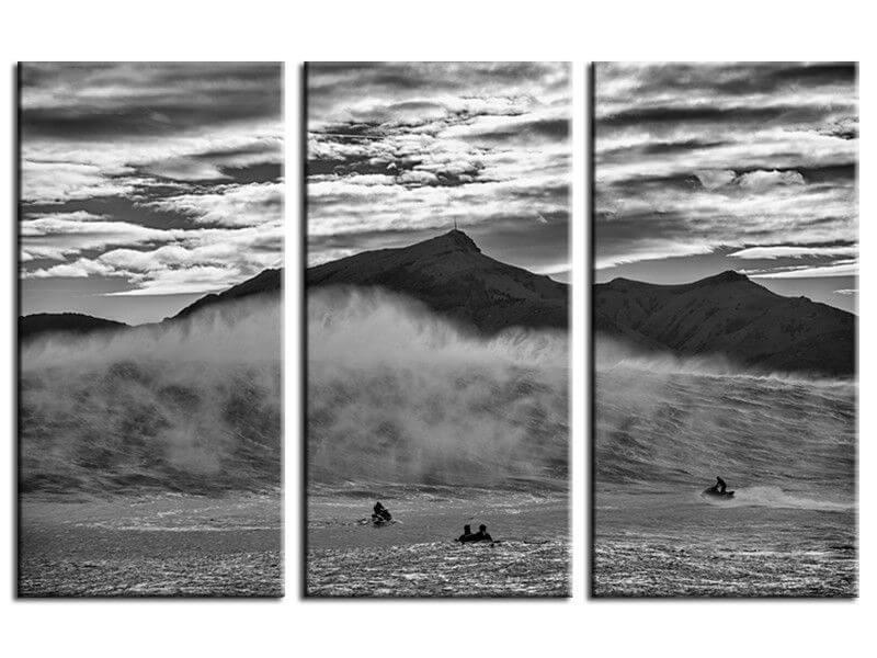 Tableau deco belharra salerno tableau photo surf vague - Tableau noir deco ...