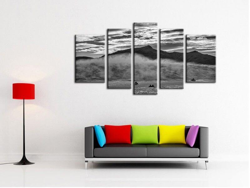 tableau deco belharra salerno tableau photo surf vague. Black Bedroom Furniture Sets. Home Design Ideas