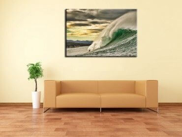 Tableau deco session surf Belharra