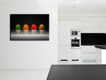 Tableau moderne Les quatre fruits
