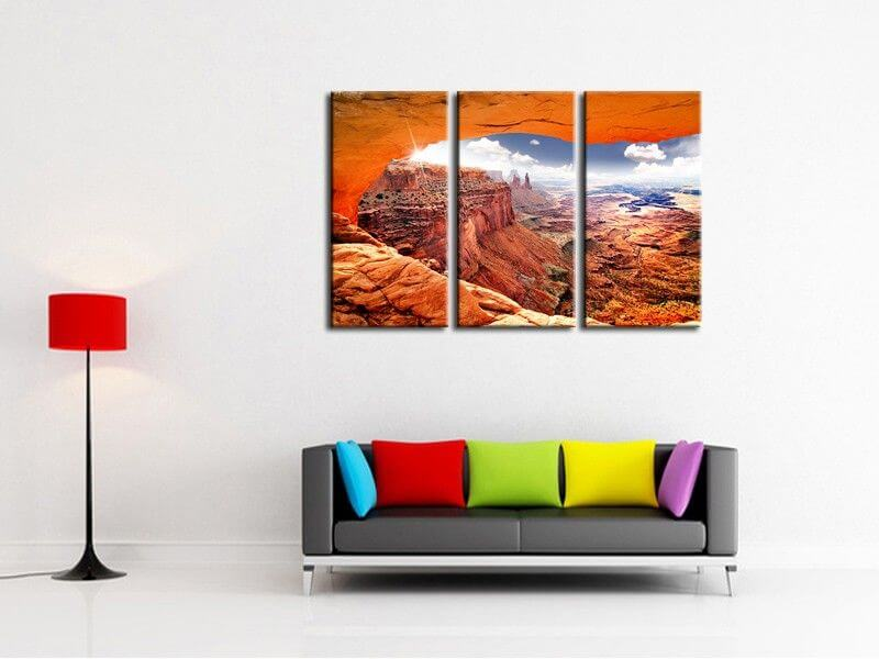 tableau photo grand canyon pas cher vente en ligne de tableaux. Black Bedroom Furniture Sets. Home Design Ideas