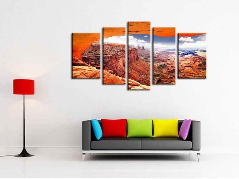 tableau photo grand canyon pas cher vente en ligne de tableaux. Black Bedroom Furniture Sets. Home Design Ideas