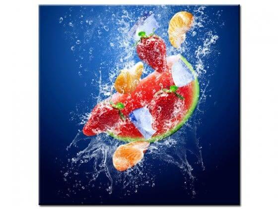 Tableau déco cuisine Mix de fruits