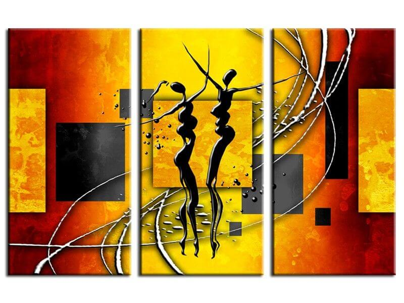 Tableau africain pas cher d coration murale contemporaine for Decoration murale africaine