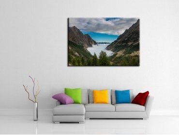 Tableau photo paysage Mercantour