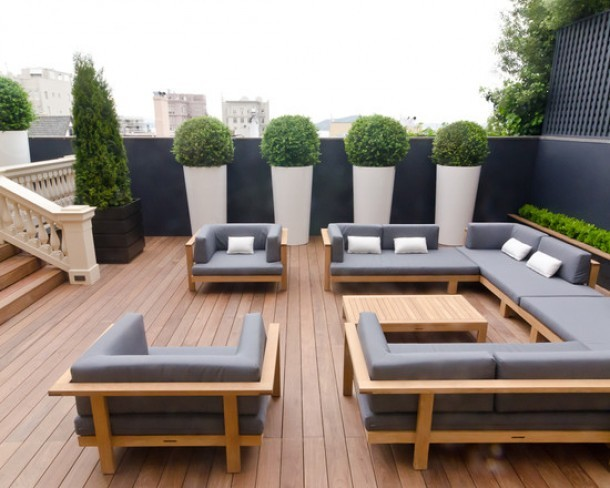 deco ext rieure optimiser sa terrasse. Black Bedroom Furniture Sets. Home Design Ideas