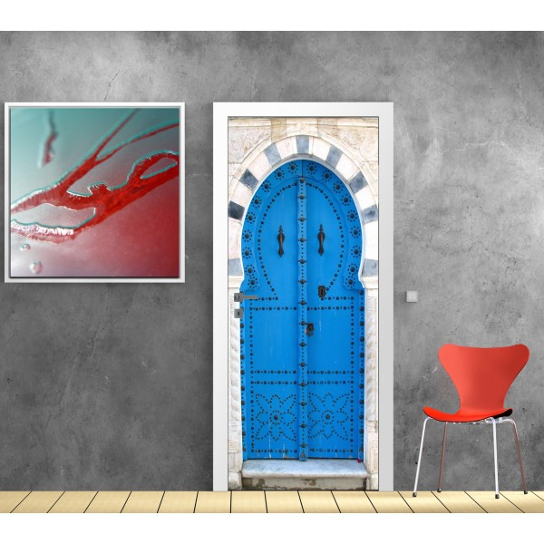 Porte meilleures astuces pour allier originalit et d co for Decoration porte interieure poster sticker