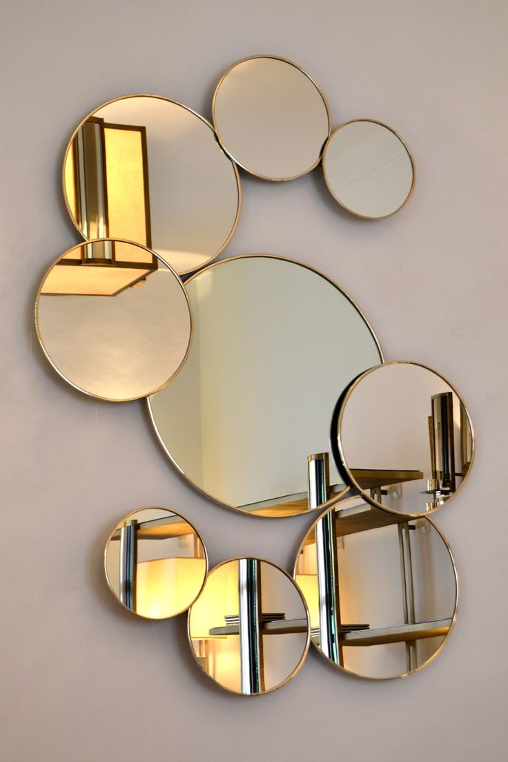 Le miroir un objet d coratif design pour le d cor int rieur for Grand miroir decoratif
