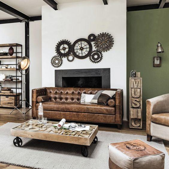 Bien d corer votre int rieur avec des meubles industriels for Decoration maison style industriel
