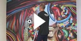 Tableau Deco: Decoration murale Design et Moderne - Hexoa